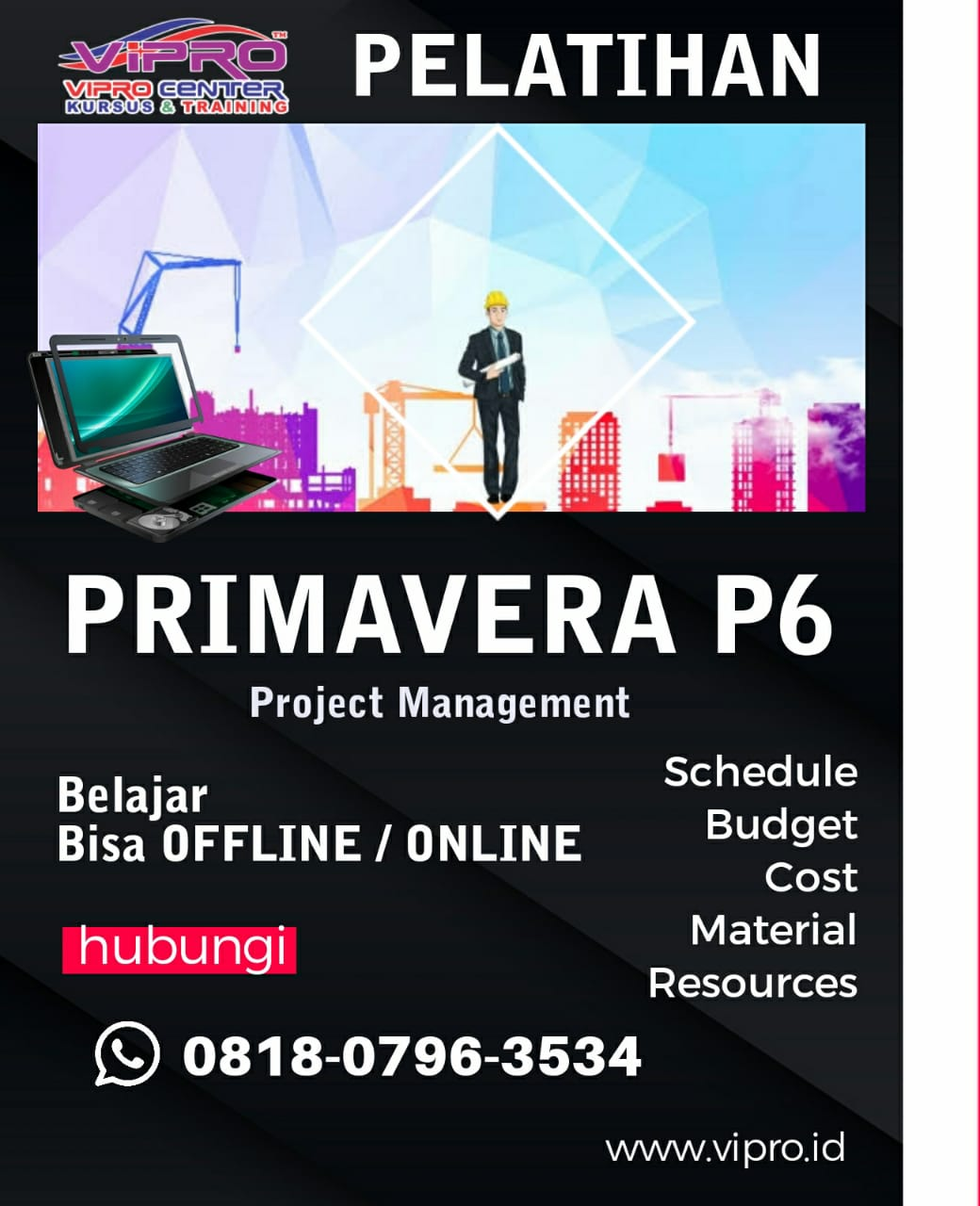 Kursus Pelatihan Primavera P6 Project Management