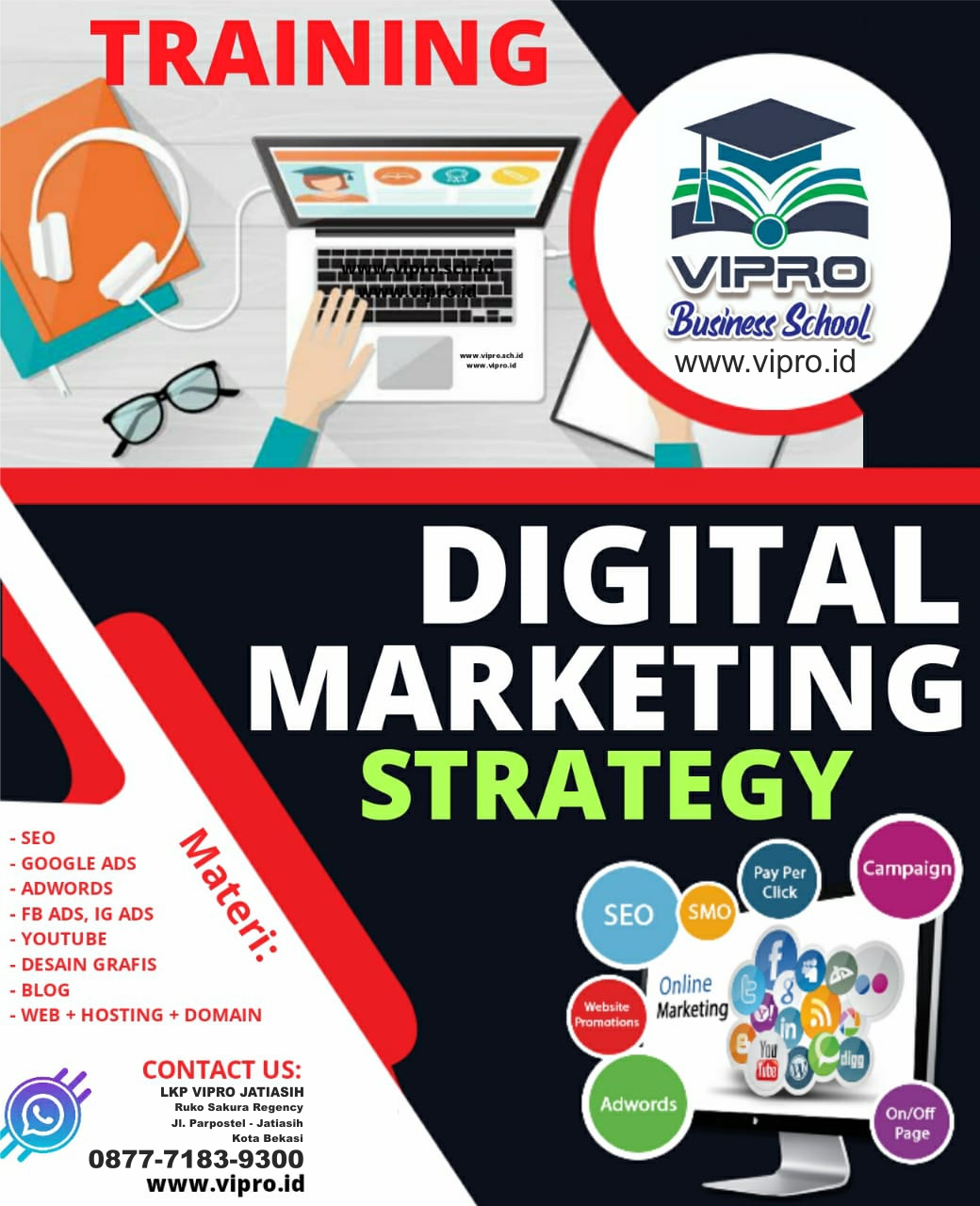 Pelatihan Digital Marketing Strategy
